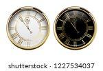 vintage luxury golden wall... | Shutterstock .eps vector #1227534037