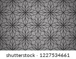 flower geometric pattern.... | Shutterstock . vector #1227534661