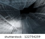 abstract architecture | Shutterstock . vector #122754259