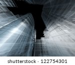 abstract architecture | Shutterstock . vector #122754301
