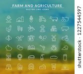 farming and agriculture web... | Shutterstock .eps vector #1227544597