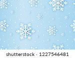 winter snowflakes background... | Shutterstock .eps vector #1227546481