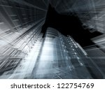 abstract architecture | Shutterstock . vector #122754769