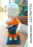 buddhist novice dolls for... | Shutterstock . vector #1227567751