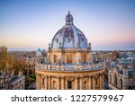 dome of radcliffe science... | Shutterstock . vector #1227579967