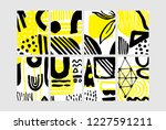 set of creative universal... | Shutterstock .eps vector #1227591211