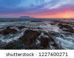 table mountain sunset   Shutterstock . vector #1227600271