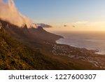 table mountain sunset   Shutterstock . vector #1227600307