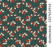 seamless vector ornamental...   Shutterstock .eps vector #1227614914