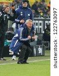 dortmund   dec 8  vfls trainer... | Shutterstock . vector #122763097