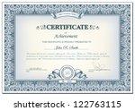 vector illustration of detailed ... | Shutterstock .eps vector #122763115