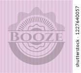 booze retro style pink emblem | Shutterstock .eps vector #1227640057
