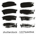 calligraphy paint brush... | Shutterstock .eps vector #1227644944