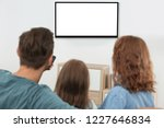 family with remote control...   Shutterstock . vector #1227646834