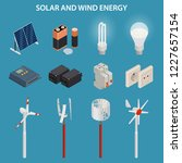 solar and wind energy...