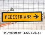 australian yellow pedestrian...   Shutterstock . vector #1227665167