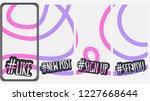 abstract social media stories... | Shutterstock .eps vector #1227668644