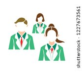 business group of people icon.... | Shutterstock .eps vector #1227673561