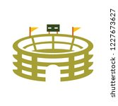sport icon   stadium sign | Shutterstock .eps vector #1227673627