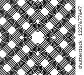 design seamless monochrome grid ... | Shutterstock .eps vector #1227677647