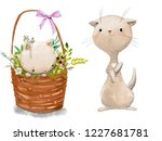 cute little cats | Shutterstock . vector #1227681781