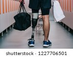 cropped shot of sportsman with... | Shutterstock . vector #1227706501