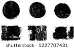grunge post stamps collection ... | Shutterstock .eps vector #1227707431