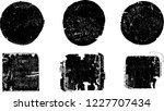 grunge post stamps collection ... | Shutterstock .eps vector #1227707434