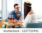 happy couple enjoying in the... | Shutterstock . vector #1227722941