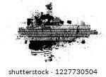 vector print textured tire...   Shutterstock .eps vector #1227730504