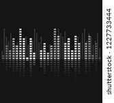 sound wave equalizer vector... | Shutterstock .eps vector #1227733444