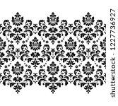 floral pattern. vintage... | Shutterstock .eps vector #1227736927