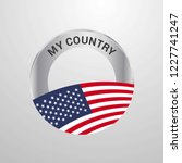united states of america my... | Shutterstock .eps vector #1227741247