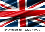 United Kingdom Waving Flag