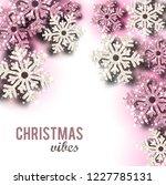 merry christmas  greeting... | Shutterstock .eps vector #1227785131