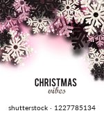 merry christmas  greeting... | Shutterstock .eps vector #1227785134