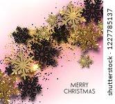 merry christmas  greeting... | Shutterstock .eps vector #1227785137