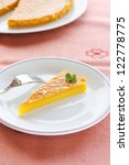 "slice of a traditional dessert ""... 
