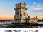Belem Tower At Sunset   Lisbon...