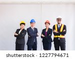 group people asian engineer... | Shutterstock . vector #1227794671