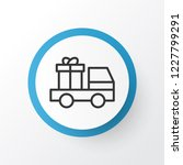 truck surprise icon symbol.... | Shutterstock .eps vector #1227799291