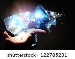 modern wireless technology and... | Shutterstock . vector #122785231