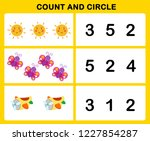count and circle illustration... | Shutterstock .eps vector #1227854287