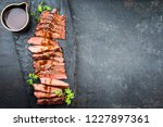 traditional american barbecue...   Shutterstock . vector #1227897361