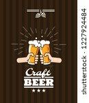 beer background concept for... | Shutterstock .eps vector #1227924484
