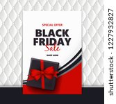 black friday sale design... | Shutterstock .eps vector #1227932827