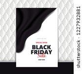 black friday sale design... | Shutterstock .eps vector #1227932881