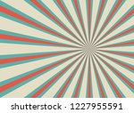 sunlight retro wide horizontal... | Shutterstock .eps vector #1227955591
