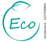 eco logo vector isolated on...