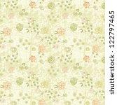 vintage floral seamless pattern ... | Shutterstock .eps vector #122797465